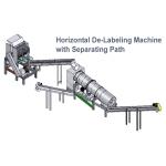 De-Labeling Machine - Horizontal type