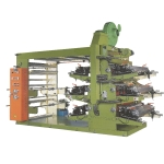 6 Colors Flexographic Printing Machine With Stack Type