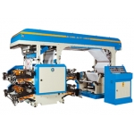 Doctor Blade type 4 COLORS FLEXOGRAPHIC PRINTING MACHINE
