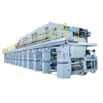 ROTOGRAVURE PRINTING PRESS - ELECTRONIC LINE SHAFT