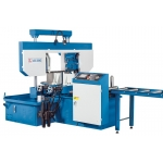 Automatic Band Saw with programmable cutting angle
