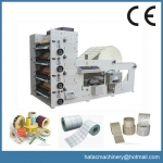 4-color Flexographic Sticker Printing Presses Industrial Machinery