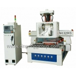 Simple Auto Tool Changer CNC Router with Rotating Spindle W1325V3