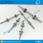 Bi-directional ball screw for wire and cable peeling machines