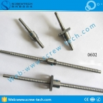 Miniature 0602 ball screw for analysis meter