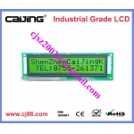 Factory supply 5V COB style 16x2 character lcd display module with LED backlight
