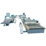 Inline sputtering continuously vacuum coating line for glass mirror making