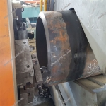 Steel Pipe Groove Beveling and Chamfering Machine