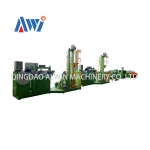 Tyre bead wire grommeting machine