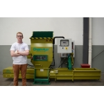 StyroFoam recycling machine of GREENMAX APOLO C100