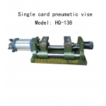 Single open pneumatic vise, pneumatic clamp, machine tool fixtureHQ-138
