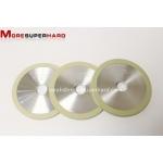 1A1 vitrified bond diamond grinding wheel for natural single crystal diamond