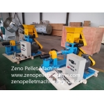 Fish feed pellet mill for floating and sinking fish food making