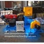 Diesel drive fish food making machine