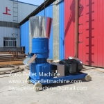 Animal feed pellet machine for poultry livestock