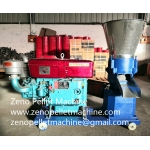 Diesel engine pellet mill for poultry and livestock